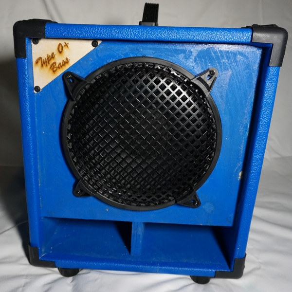 Type O+ Cabinet Blue Bass